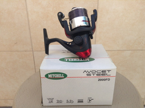 rell mitchell  avocet steel fd 2000