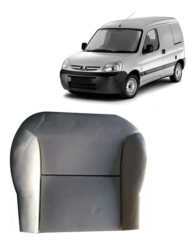 relleno asiento butaca p/ peugeot partner 1998 a 2019