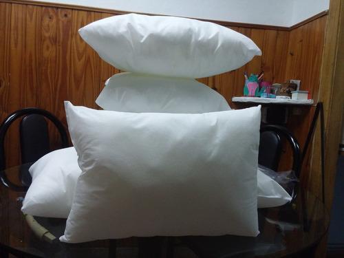 relleno de almohadones  40x40  100% vellon siliconado