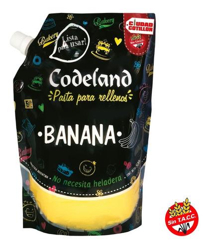 relleno de banana codeland 500g ciudad cotillón