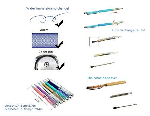 relleno de bolígrafo mengran 2.75 '' para swarovsk