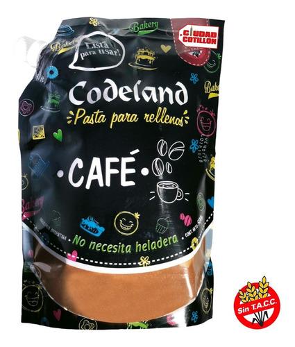 relleno de café codeland 500g - ciudad cotillón