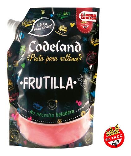 relleno de frutilla codeland 500gs ciudad cotillón