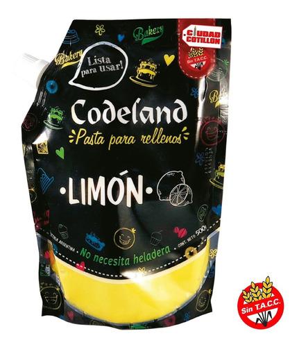 relleno de limón codeland 500g - ciudad cotillón