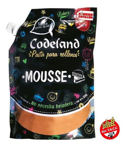 relleno de mousse codeland 500g - ciudad cotillón