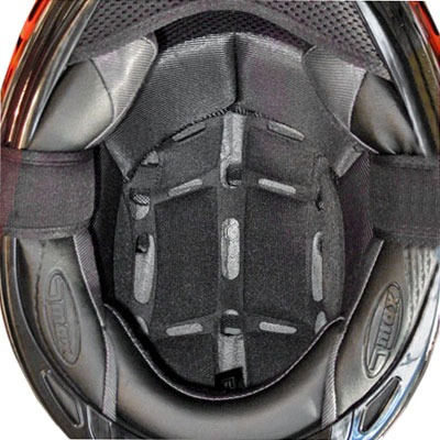 relleno interno p/casco gmax gm67 comfort negro xxxl 6 mm