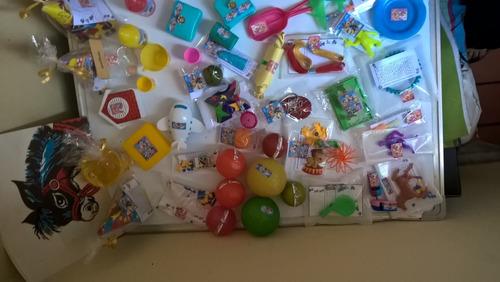 relleno piñata y cotillón juguete personalizado niños 60u
