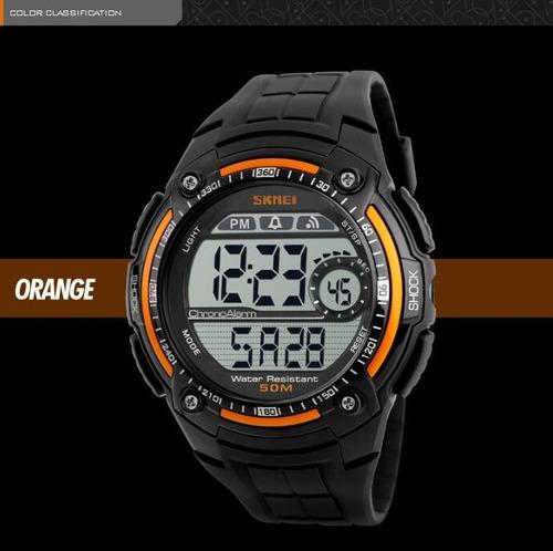 relógio 1 bracelete +  1 relógio digital skmei prova d'àgua