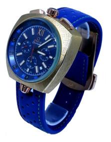 3149cf82c8 Relogio Masculino Omega Com Fundo Azul - Joias e Relógios no Mercado ...