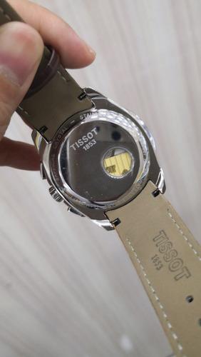 b5da58d744d Relógio 1853 Automatic Prata Bezel Rose Fundo Branco Couro - R  600 ...