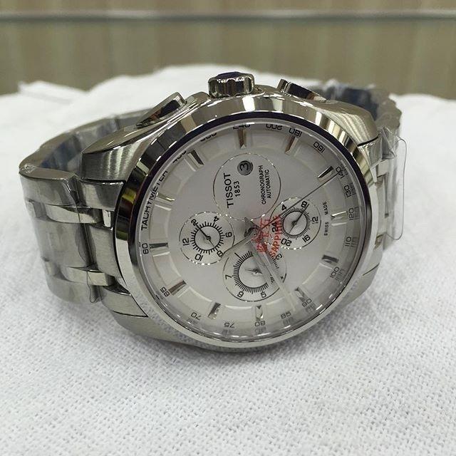 897f14de686 Relógio 1853 Automatic Prata Fundo Branco Aço - R  600