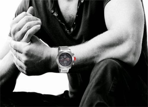 relógio 96241g0pmna1 masculino puma cronógrafo prata