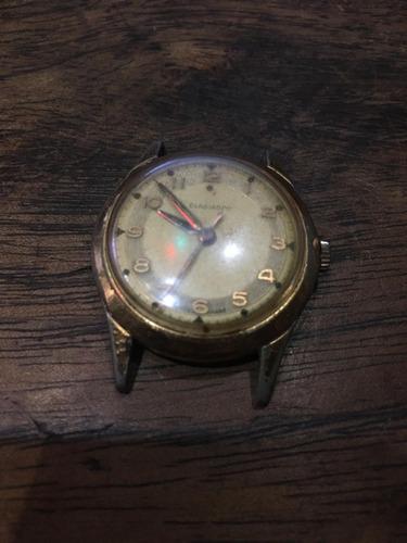 relógio a corda gladiador pulso antigo não automat 013