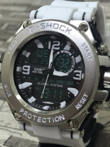 relógio aço steel top  masculino analógico e digital barato
