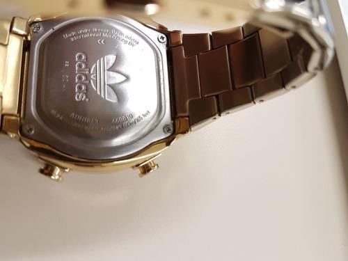 relógio adidas adh-1843 dourado