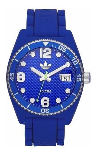 relógio adidas  adh 6153  pulseira silicone unisex original