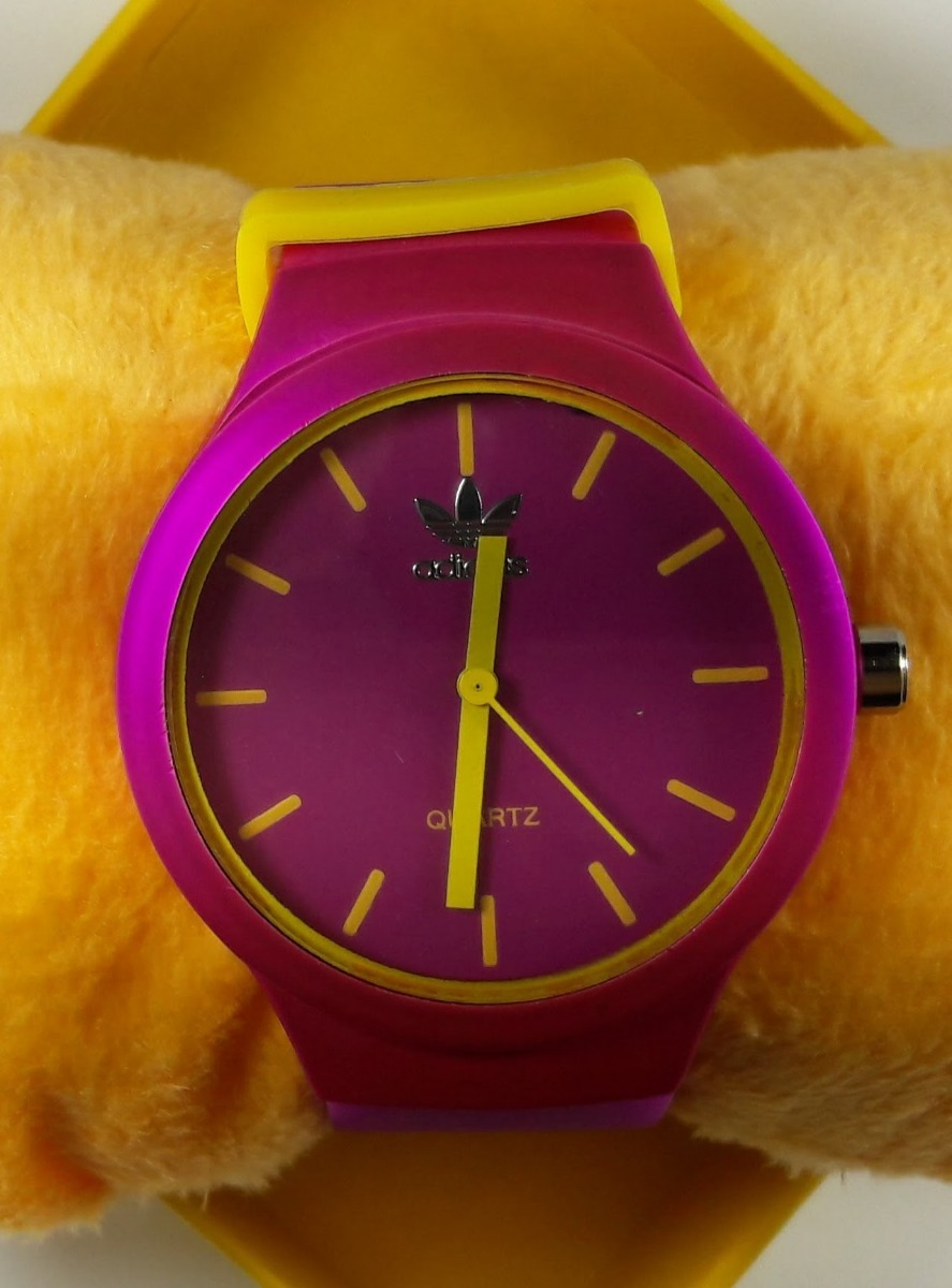 40b726ce1dc relógio adidas colorido. Carregando zoom.