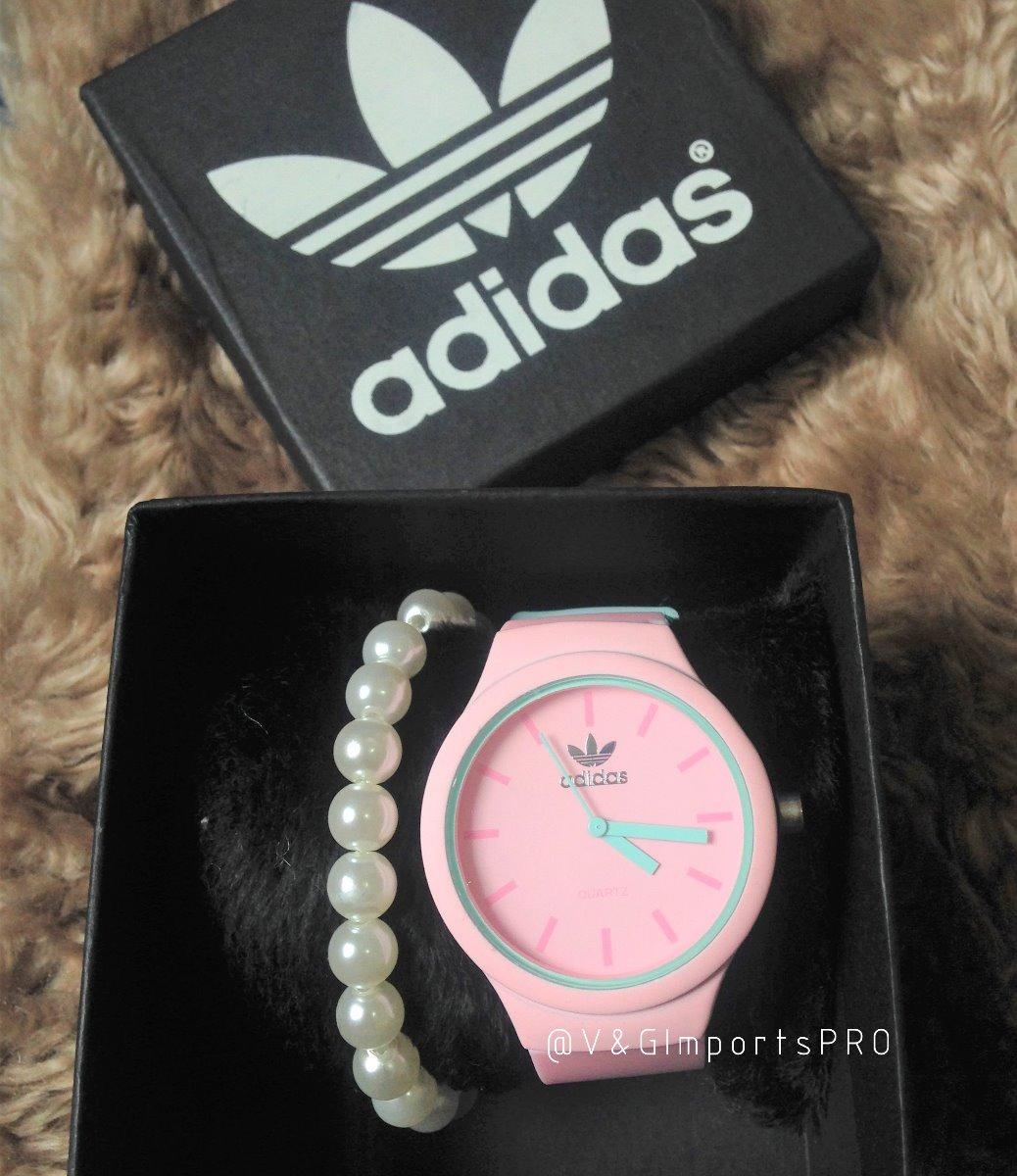 b32252ffbcc relógio adidas feminino colors colorido cores + brinde. Carregando zoom.