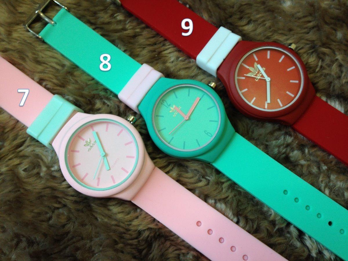 12c2b439b5f relógio adidas feminino colors cores colorido   sem caixa. Carregando zoom.
