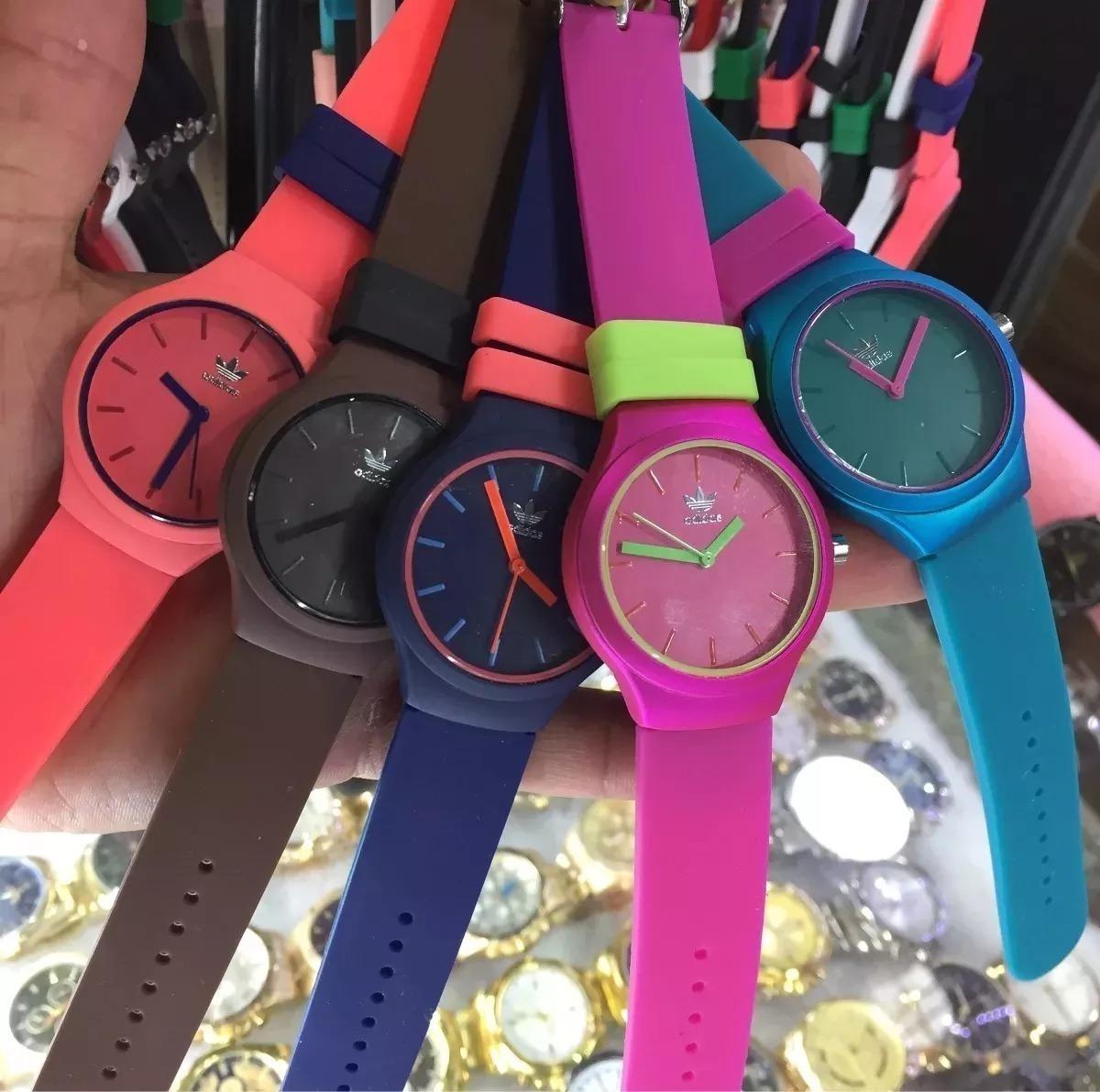 d3414663fd1 relógio adidas feminino esportivo escolha a cor. Carregando zoom.