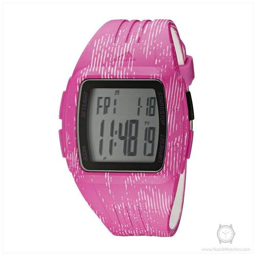 relógio adidas feminino rosa esportivo adp3185/8tn