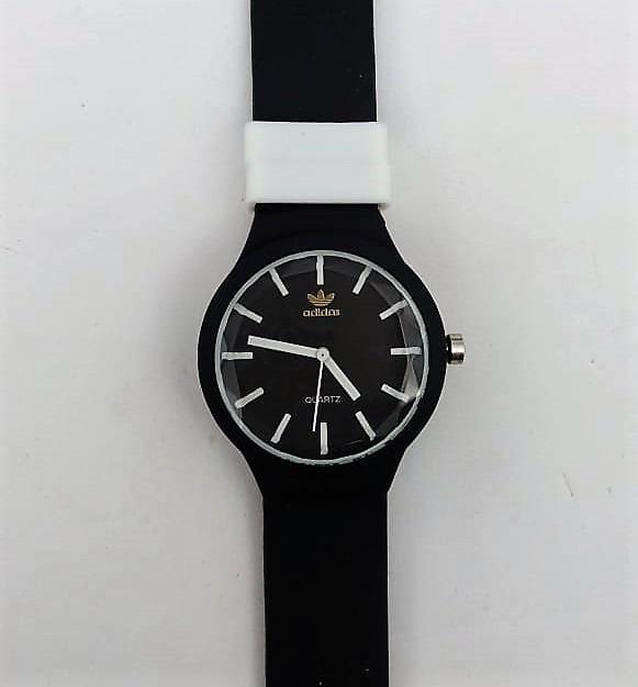 aad6c8d8656 Relógio adidas Pulseira Silicone Super Collor Lindo +brinde - R  19 ...