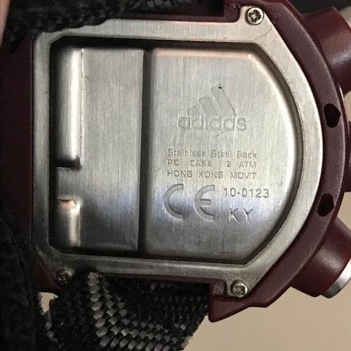 relógio adidas stop watch importado aceito trocas