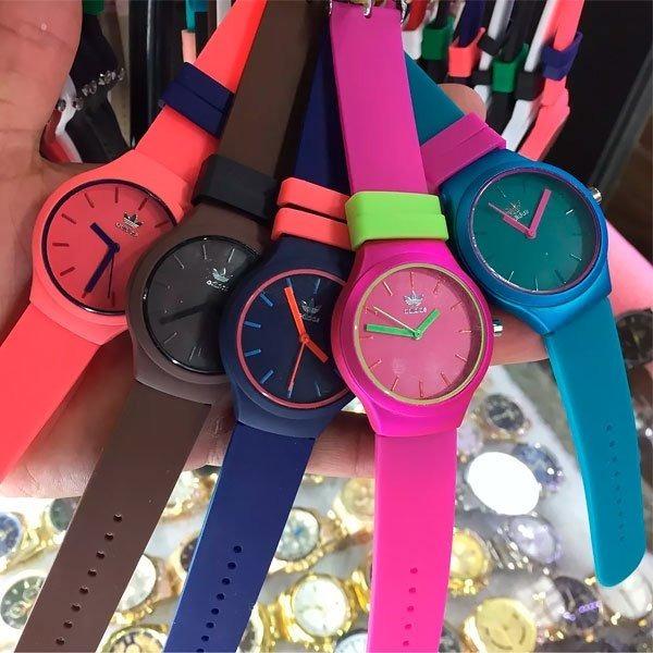 b48864be544 Kit 10 Relógio adidas Unissex Pulso Coloridos Frete Grátis - R  179 ...
