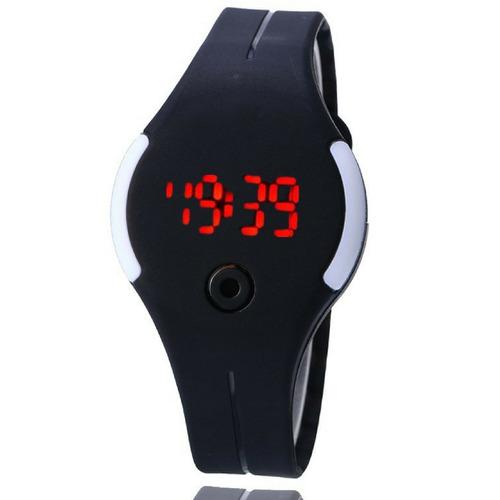 relógio adulto criança led digital sport bracelete pulseira
