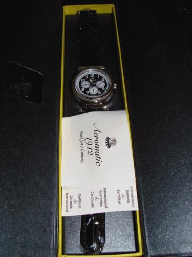 relógio aeromatic automatic calendário completo a1101 unisex