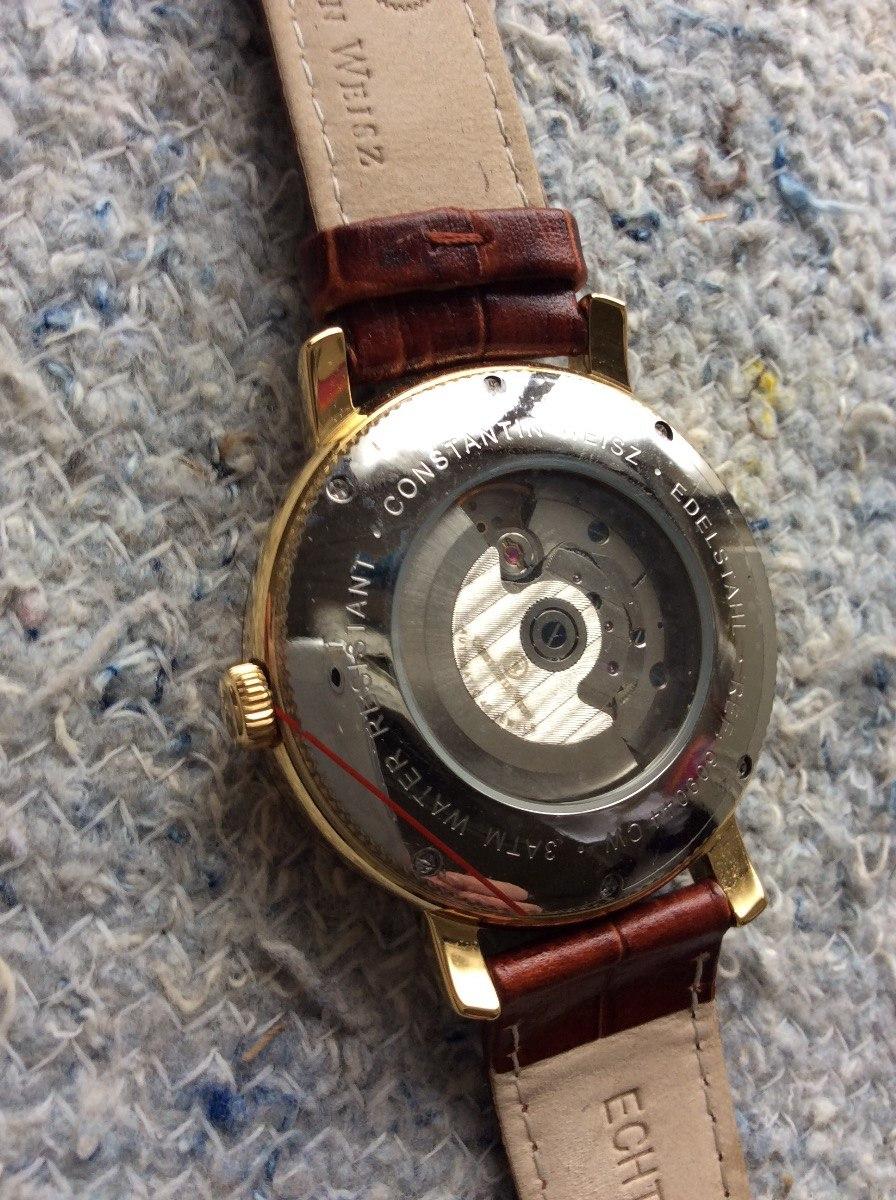 6776774d81e relógio alemão constantin weisz pq ouro autom corda 40 rubis. Carregando  zoom.