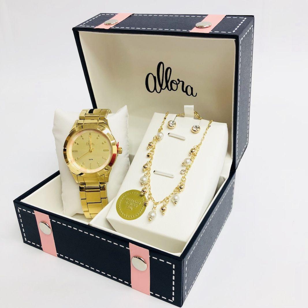 b8f52690606 Relógio Allora Ref al2035fkj k4t - R  238