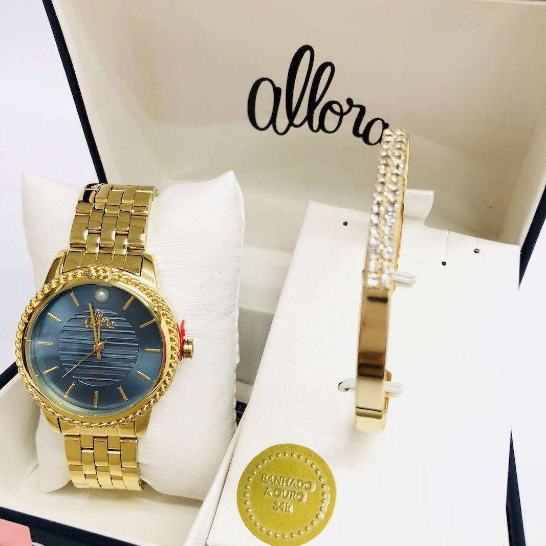 b0778e4f04d Relógio Allora Ref al2035fkv k4a - R  238