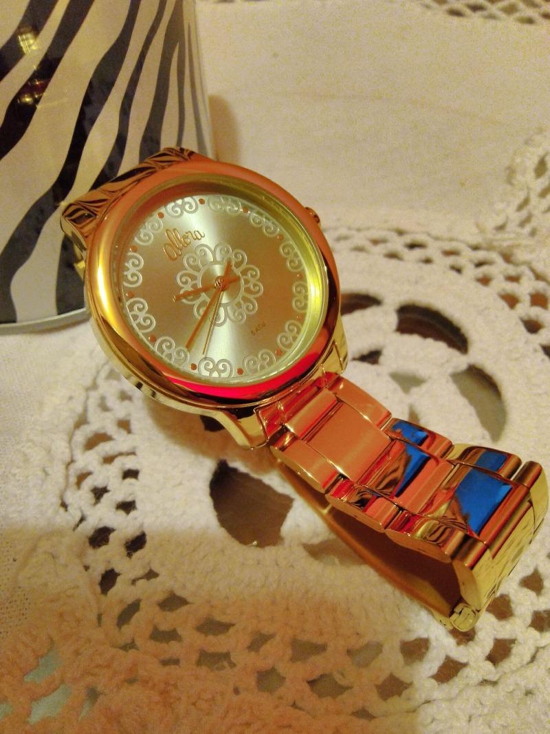1ca37f4391022 relógio allora segredos do oriente dourado. Carregando zoom.