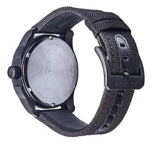 relógio alpinestars tech 3h pulseira nylon de r$ 799 por