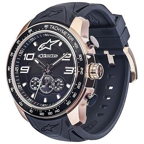 69e4817bfb5 Relógio Alpinestars Tech Dourado Chrono (pulseira Silicone P - R ...