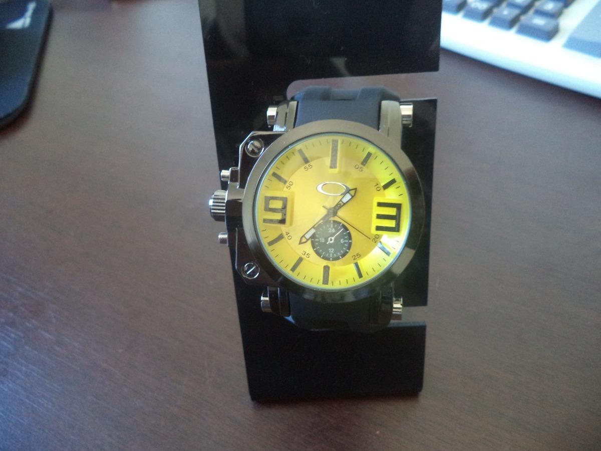 9deceb7a444 relógio amarelo visor azul resistente de safira. Carregando zoom.