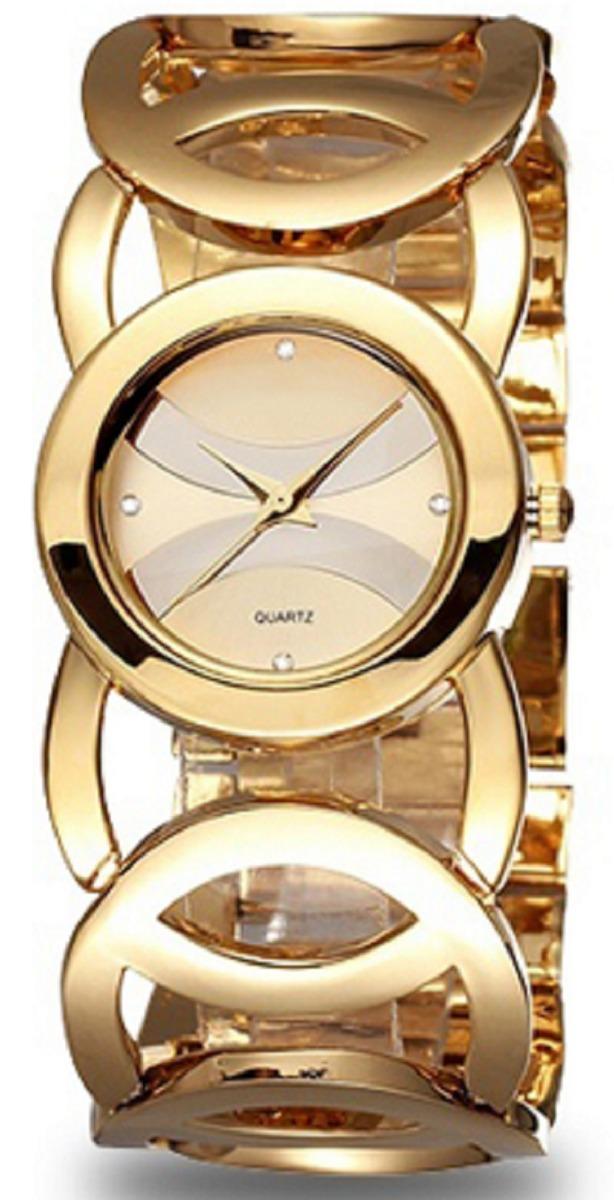 8917393d75e relógio amuda feminino dourado liquidação aproveite. Carregando zoom.