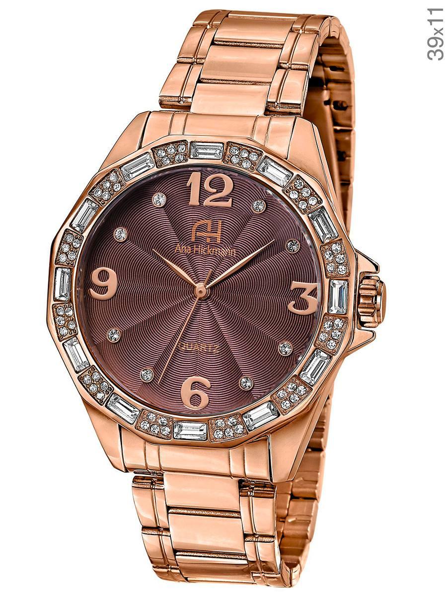 e5d058bef69 relógio ana hickmann ah28946r dourado rose. Carregando zoom.