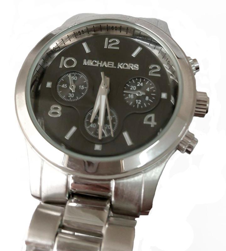 1c7d575f12d relógio analógico de pulso feminino prata fundo preto. Carregando zoom.