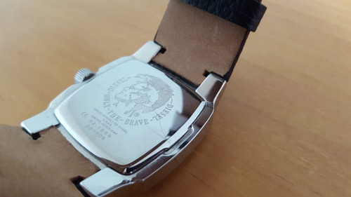 relógio analógico diesel dz1089 unissex