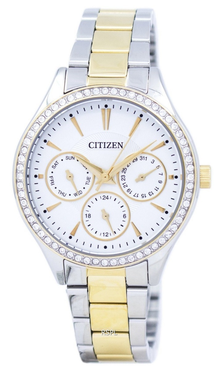 410ef52c2db relógio analógico feminino citizen tz28404b prata original. Carregando zoom.