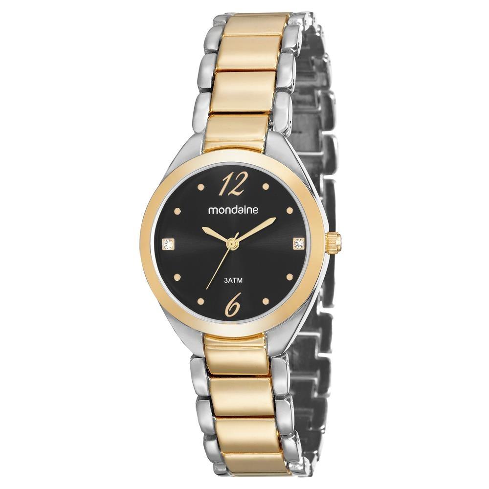 b70f436d45c relógio analógico feminino mondaine 53566lpmvbe2 dourado. Carregando zoom.