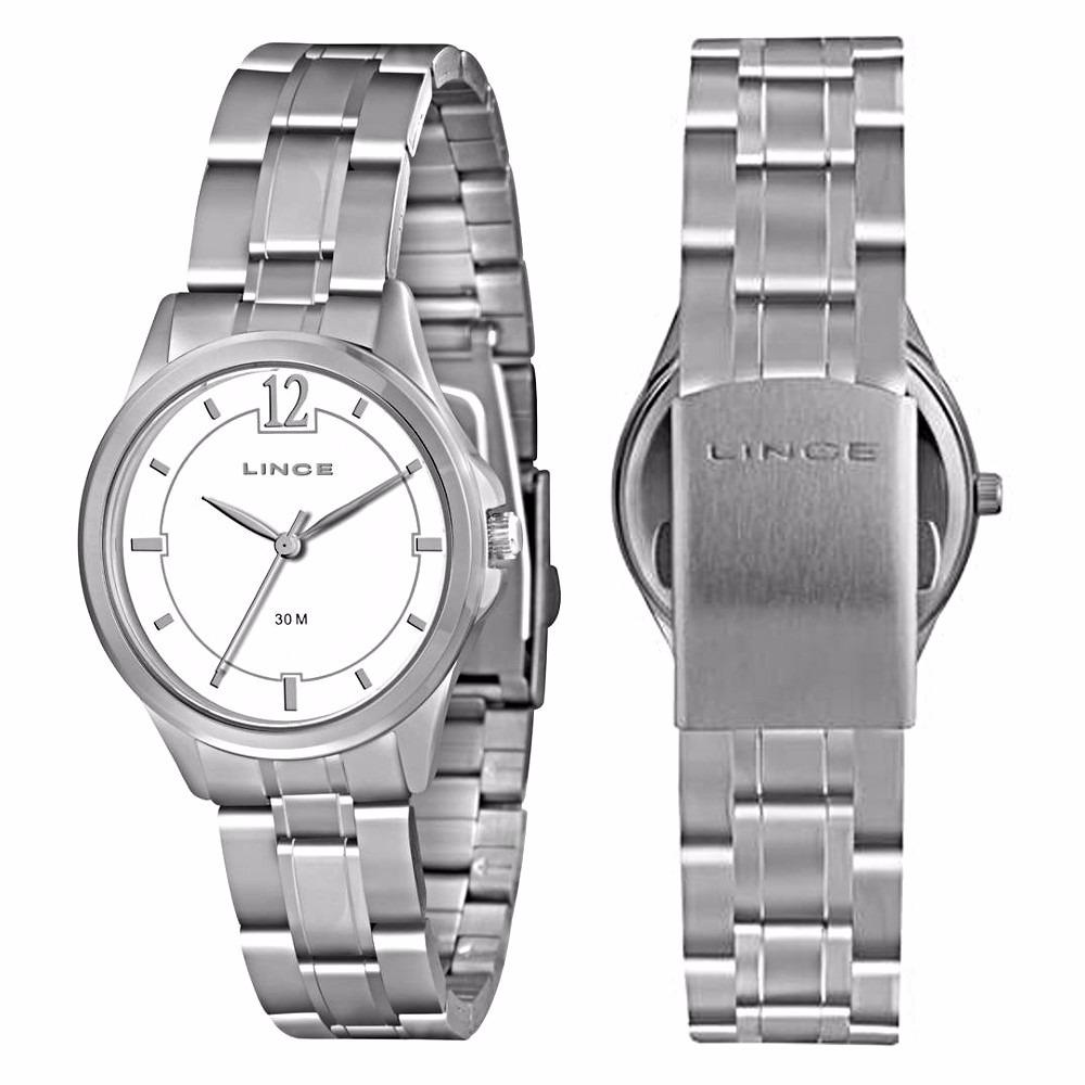 relógio analógico lince feminino prateado lrm4294lb2sx prata. Carregando  zoom. d864bbbe92