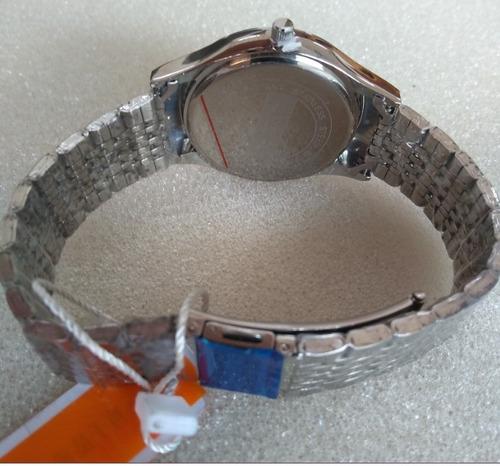 relógio analógico marca chenxi mod cx0065g  original