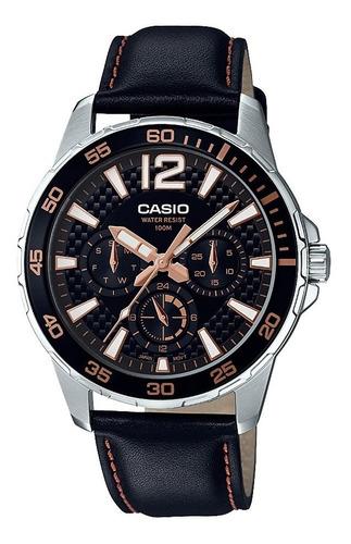 relógio analógico masculino casio mtd-330l-1a3vdf