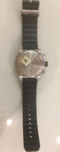 relógio analógico puma 96241g0pmnu2 - preto original