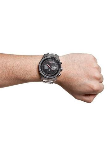 relógio analógico puma c/ cronógrafo prova d'água - original