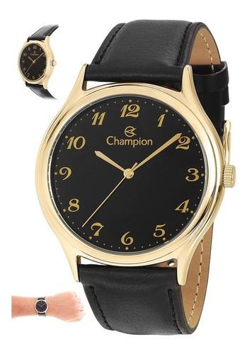 relógio analógico social champion-cn20024p