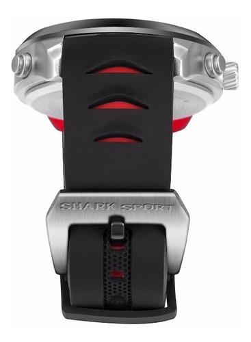 relógio analógico/digital shark sh540 pulseira silicone